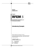 Voorbeeld RFEM