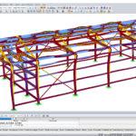 Eigenvector kritische knik belasting van een structuur in koudgevormd staal