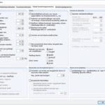 Instellingen berekeningsparameters in RFEM