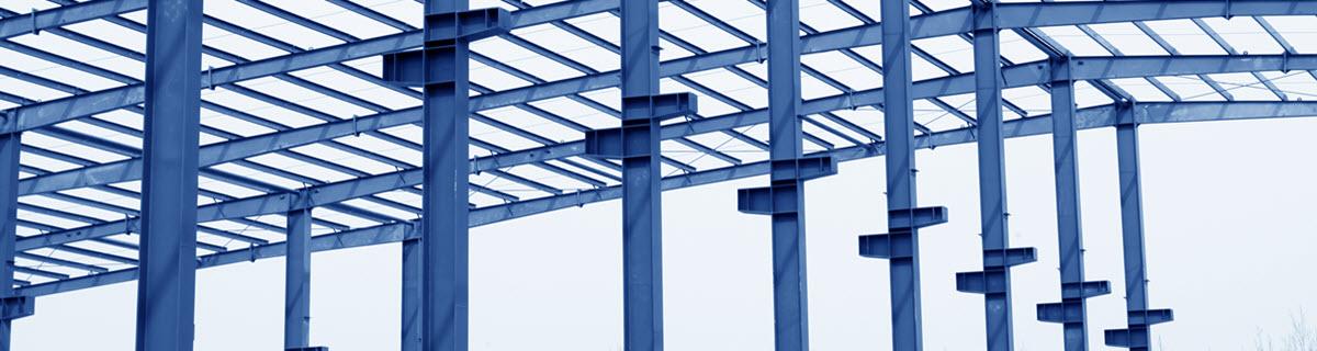 Staalconstructies met kolommen