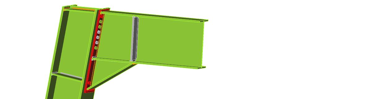 momentvast staal verbinding ontwerpen kopplaat