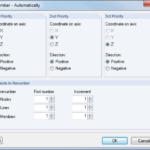 automatisch hernummeren van objecten in RFEM