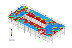 RF-CONCRETE add-on module voor gewapend beton in de rekensoftware RFEM