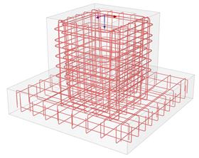 Berekening van fundaties op staal met RF-FOUNDATION Pro