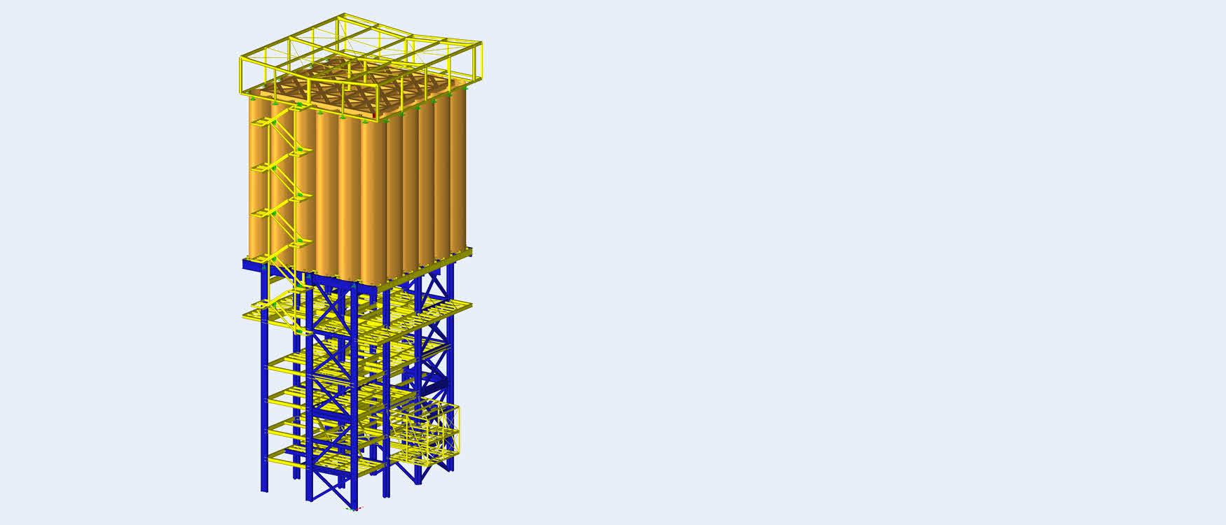 Gips mengwerk silo berekenen (C)www.dw-ingenieure.de