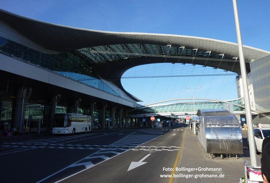Luchthaven Terminal berekend met RFEM