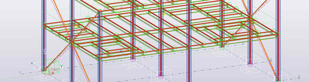 Tekla analysismodel BIM model rekensoftware