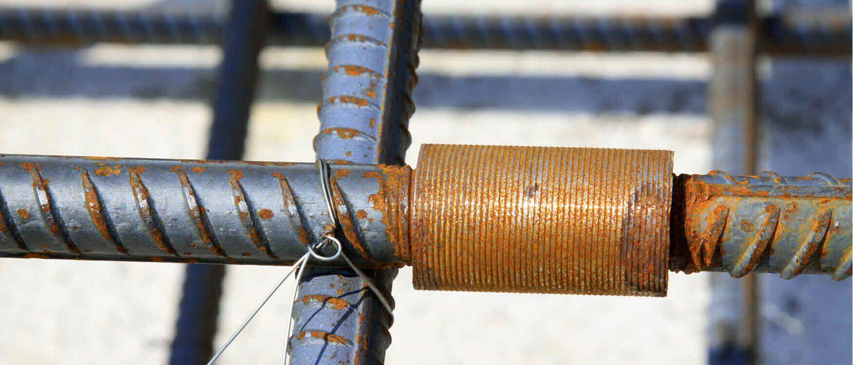 betonconstructies doorkoppeling wapeningstaaf